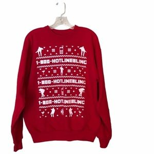 1-800-HotlineBling Ugly Christmas Sweater
